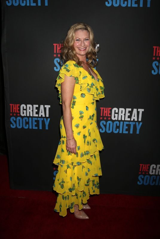 ANGELA PIERCE at The Great Society Play Opening Night in New York 10/01/2019