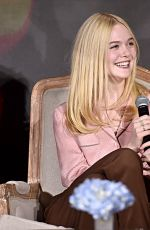 ANGELINA JOLIE, ELLE FANNING and MICHELLE PFEIFFER at Maleficent: Mistress of Evil Press Conference in Beverly Hills 09/30/2019
