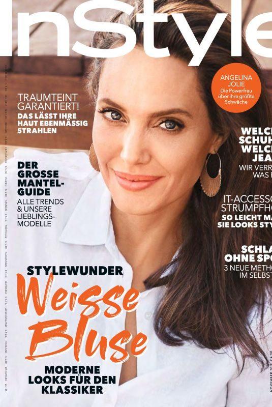ANGELINA JOLIE in Instyle Magazine, Germany November 2019