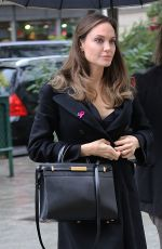 ANGELINA JOLIE Out and About in Paris 10/20/2019