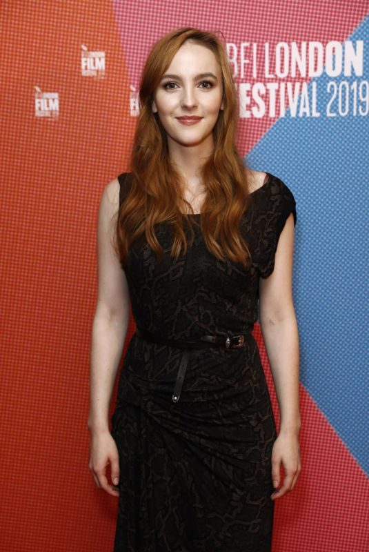 ANN SKELLY at Rose Plays Julie Premiere at 63rd BFI London Film Festival 10/03/2019