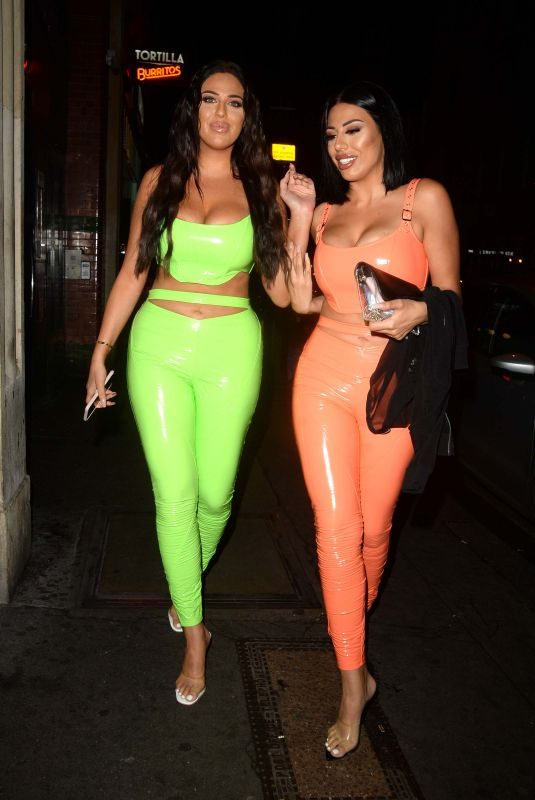 ANNA and MANDI VAKILI at Harley Brash' 21st Birthday Party in London 09/23/2019