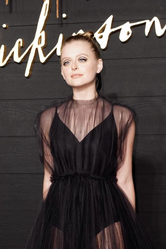 ANNA BARYSHNIKOV at Dickinson Premiere in New York 10/17/2019