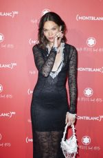 ANNA BREWSTER at Montblanc Launch Collection to Benefit Red in Paris 10/08/2019