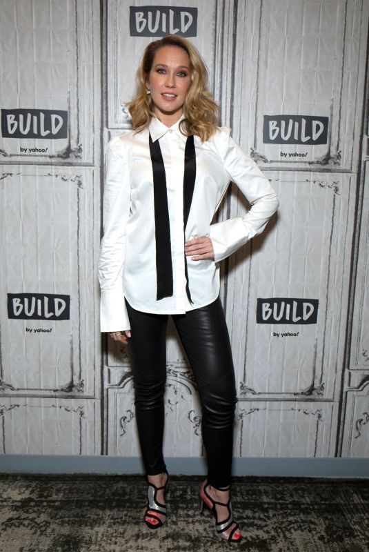 ANNA CAMP at Aol Build in New York 10/22/2019