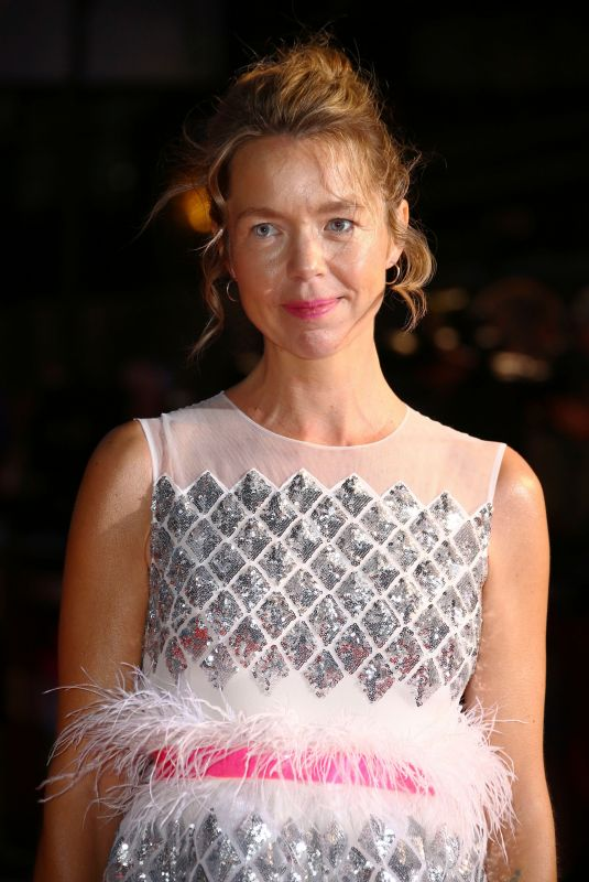 ANNA MAXWELL at The Personal History of David Copperfield Premiere at 63rd BFI London Film Festival 10/02/2019