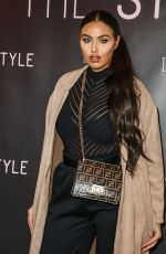 ANNA VAKILI at In the Style, the Power Edit Launch Party 10/21/2019