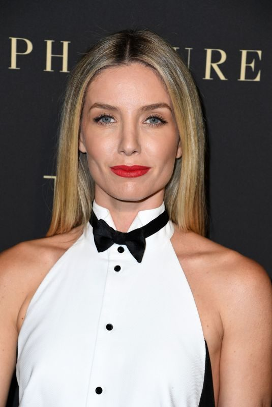 ANNABELLE WALLIS at Elle Women in Hollywood Celebration in Los Angeles 10/14/2019v