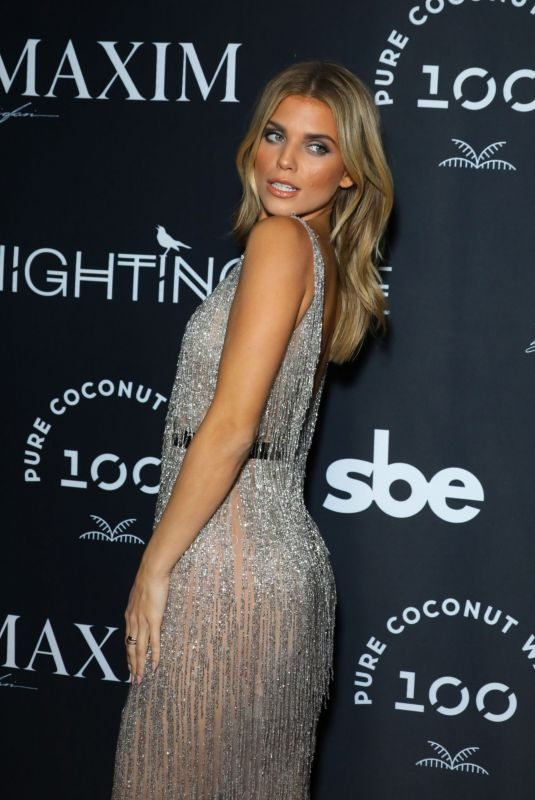 ANNALYNNE MCCORD at Maxim Celebrates Release of September/October 2019 Issue 09/28/2019