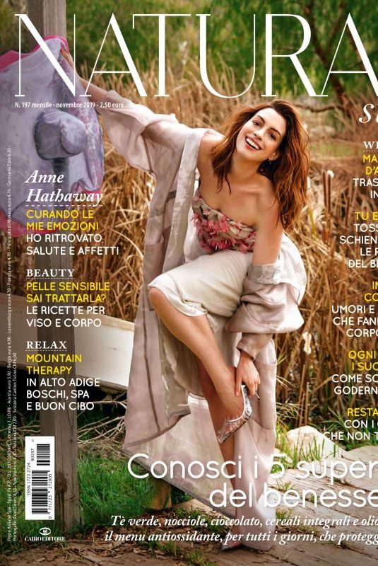 ANNE HATHAWAY in Natural Style Magazine, November 2019