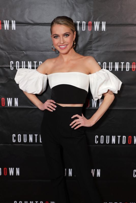 ANNE WINTERS at Countdown Special Screening in Los Angeles 10/23/2019