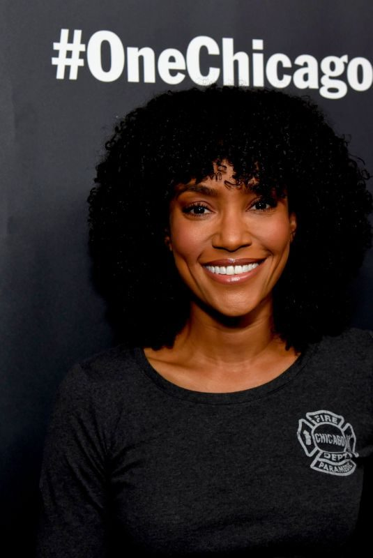 ANNIE ILONZEH at NBC Chicago Press Day 10/07/2019