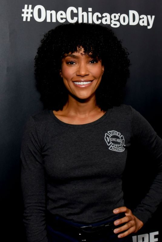 ANNIE ILONZEH at #onechicagoday in Chicago 10/07/2019