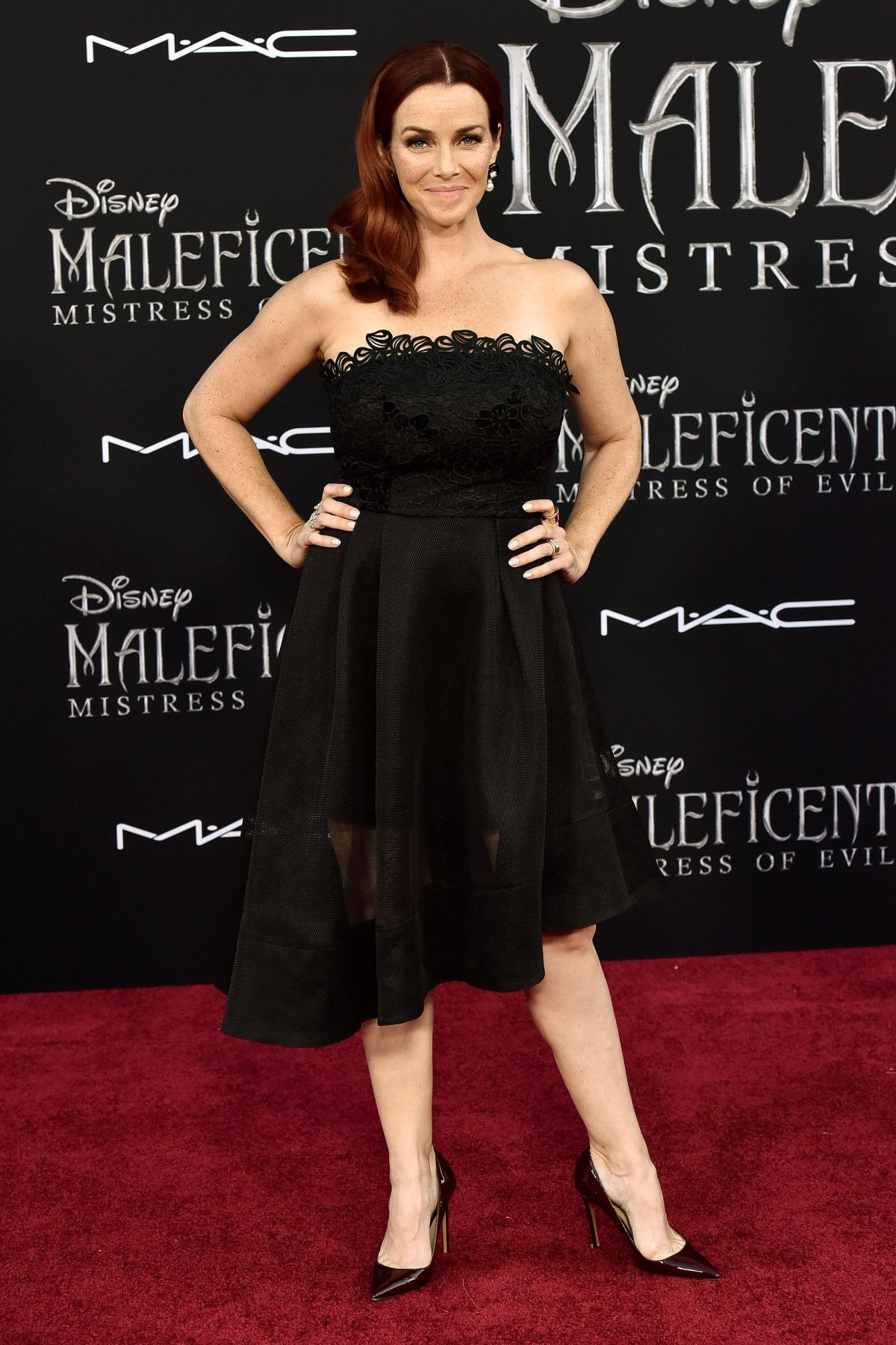 Annie Wesching At Maleficent Mistress Of Evi Premiere In