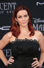 ANNIE WESCHING at Maleficent: Mistress of Evi Premiere in Hollywood 09/30/2019