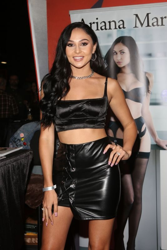 ARIANA MARIE at Exxxotica 2019 in New Jersey 10/25/2019