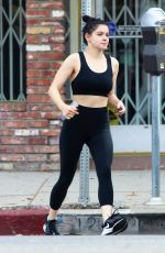 ARIEL WINTER Leaves a Gym in Los Angeles 10/16/2019