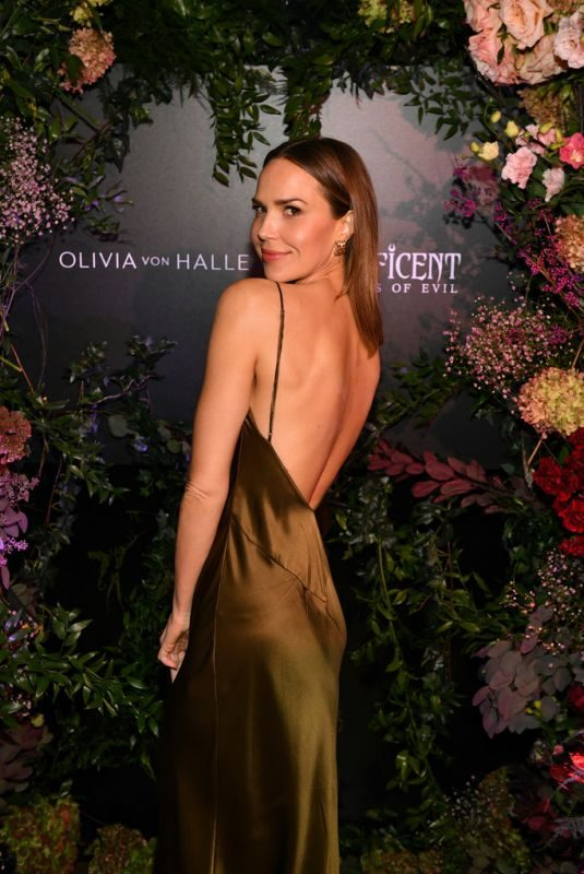 ARIELLE KEBBEL at Olivia von Halle x Disney Maleficent: Mistress of Evil Event in New York 10/16/2019