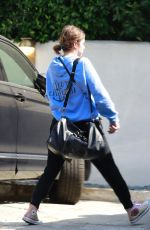 ASHLEY BENSON Out and About in Los Angeles 10/14/2019