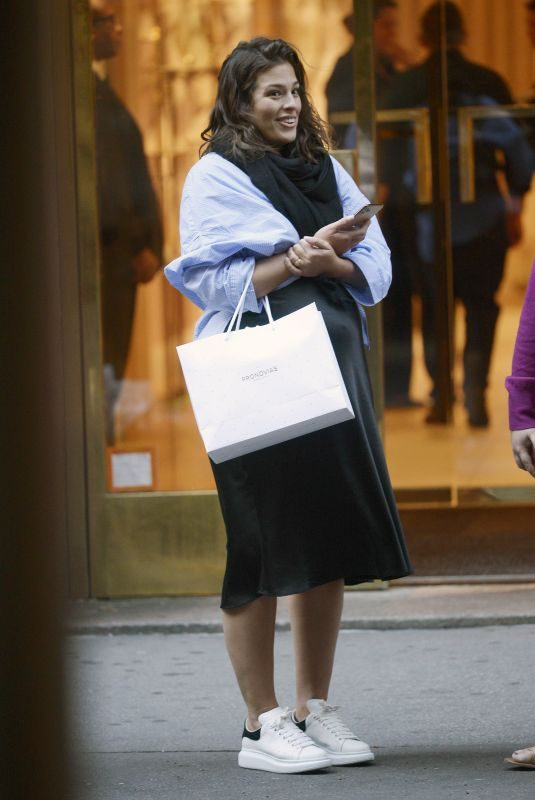 ASHLEY GRAHAM Out and About in New York 10/04/2019