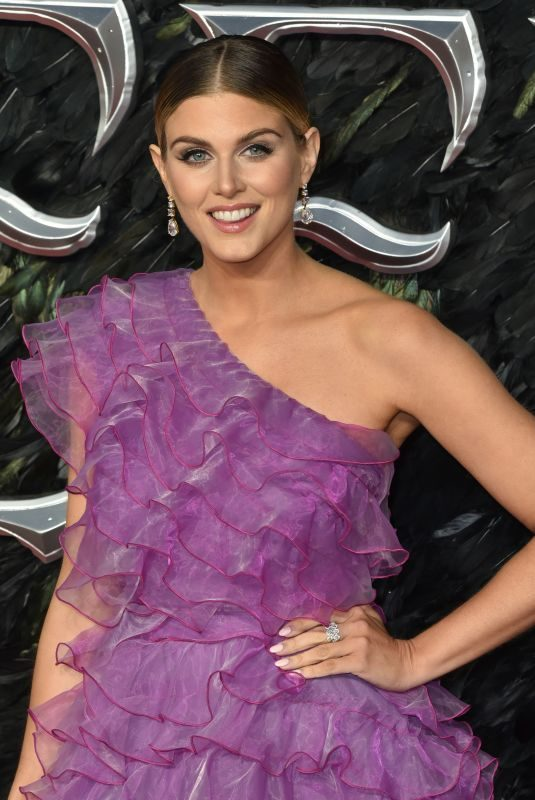 ASHLEY JAMES at Maleficent: Mistress of Evil Premiere in London 10/09/2019