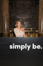 ASHLEY JAMES at Simply be the New Icons Photocall in London 10/02/2019