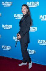 AUDREY DANA at La Verite Si Je Mens Les Debuts Premiere in Paris 10/15/2019