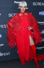 AVA CAPRA at We Summon the Darkness Premiere at Screamfest in Los Angeles 10/17/2019