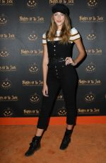 AVA MICHELLE at Nights of the Jack Friends & Family Night 2019 in Calabasas 10/02/2019