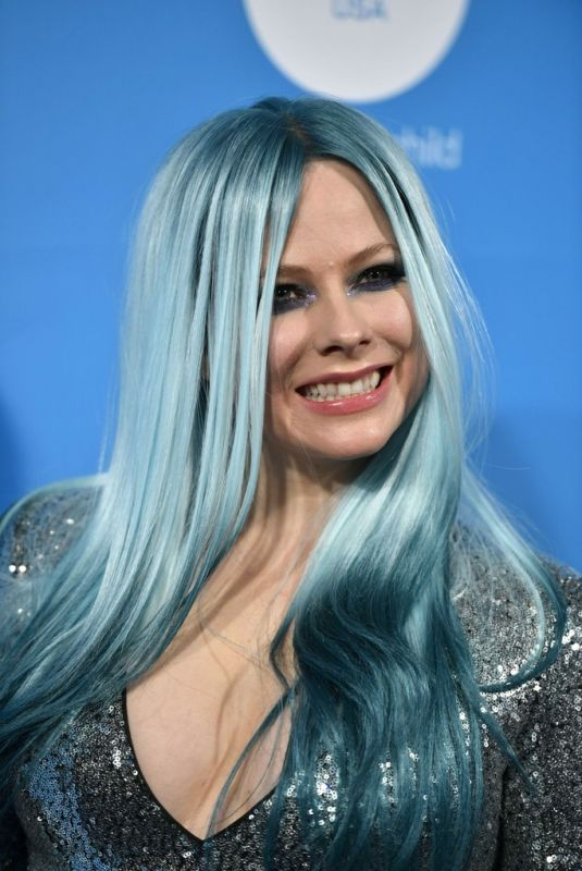 AVRIL LAVIGNE at Unicef Masquerade Ball in West Hollywood 10/26/2019