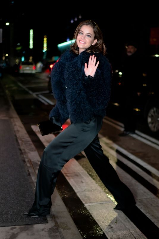 BARBARA PALVIN Night Out in New York 10/30/2019