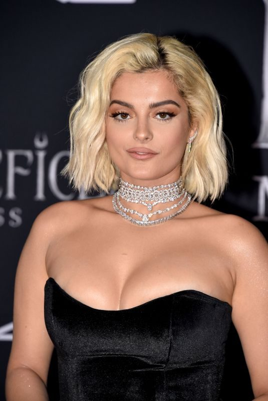 BEBE REXHA at Maleficent: Mistress of Evil Premiere in Los Angeles 09/30/2019