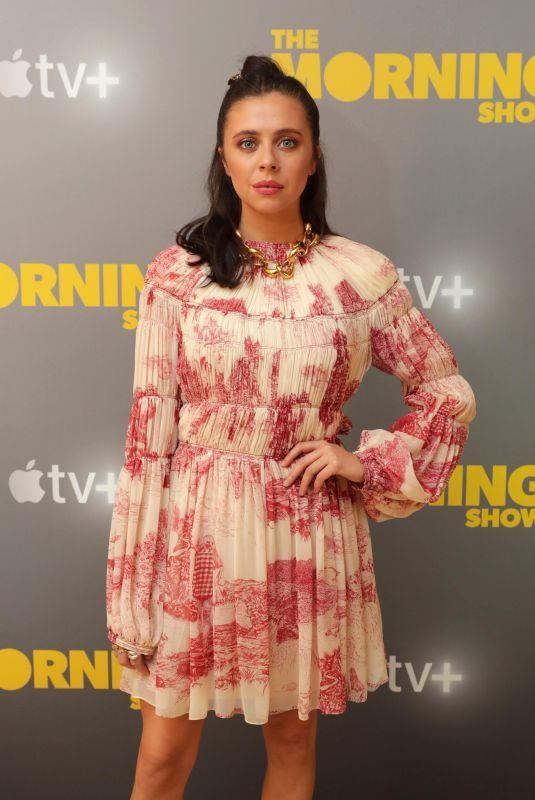 BEL POWLEY at Apple's Press Day for The Morning Show in Los Angeles 10/13/2019