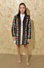 BEL POWLEY at Miu Miu Show at Paris Fashion Week 10/01/2019