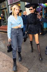 BELLA HADID and DUA LIPA Celebrate Bella