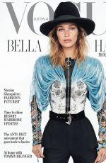 BELLA HADID in Vogue Magazine, Australia November 2019