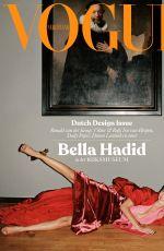 BELLA HADID in Vogue Magazine, Netherlands November 2019 Issue