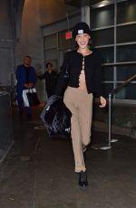 BELLA HADID Leaves a Studio in New York 10/16/2019