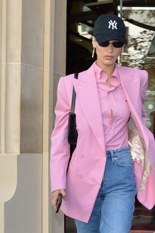 BELLA HADID Out and About in Paris 09/30/2019