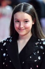 BELLA RAMSEY at Judy Premiere in London 09/30/2019