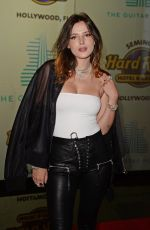 BELLA THORNE at Guitar Hotel Opening in Hollywood 10/24/2019