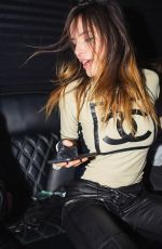 BELLA THORNE Night Out in Los Angeleas - Instagram Photos 10/10/2019