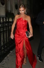 BILLIE FAIERS at Haven House Ball in London 10/17/2019