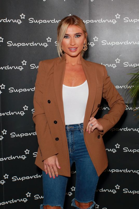 BILLIE FAIERS at Superdrug Presents Event in London 09/28/2019