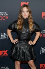 BILLIE LOURD at American Horror Story 100th Episode Celebration in Hollywood 10/26/2019