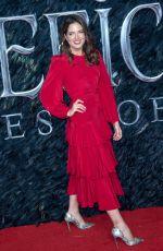 BINKY FELSTEAD at Maleficent: Mistress of Evil Premiere in London 10/09/2019