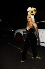 BLAC CHYNA Arrives at Halloween Party at Highlight Room 10/29/2019