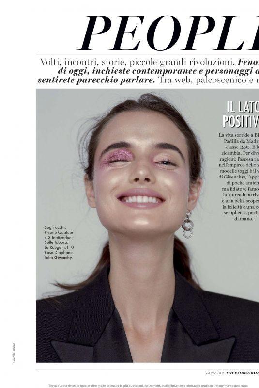 BLANCA PADILLA in Glamour Magazine, Italy November 2019