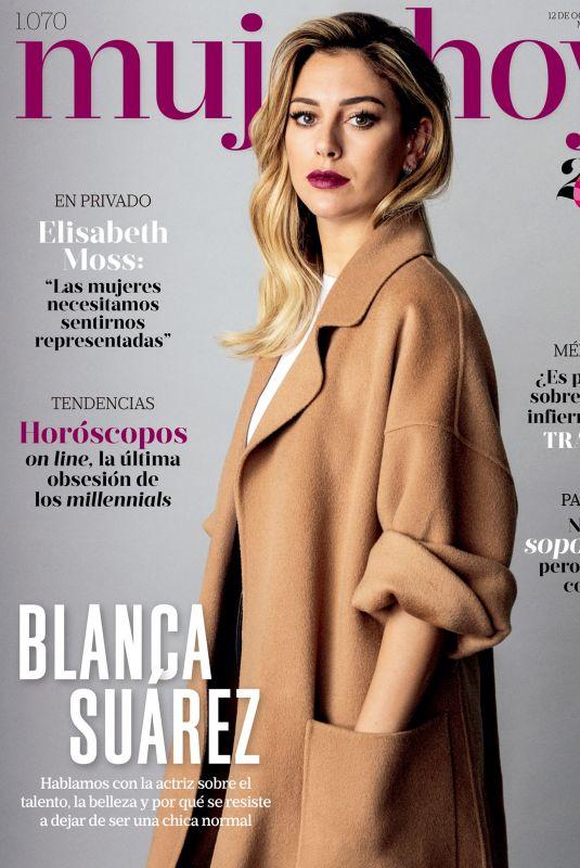 BLANCA SUAREZ in Mujer Hoy, October 2019