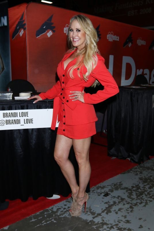 BRANDI LOVE at Exxxotica Expo 2019 in New Jersey 10/25/2019